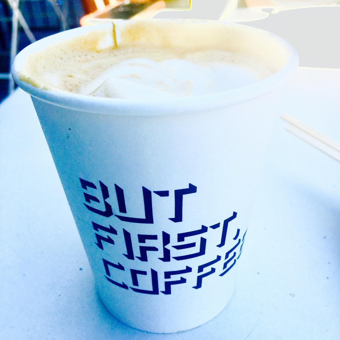 First, Coffee